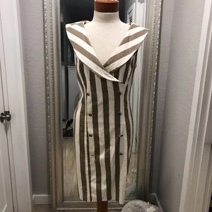 NWT VINTAGE ALL THAT JAZZ SLEEVELESS DRESS